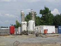 Grundwasser-Reinigungsanlage