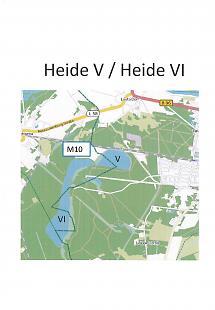 Lageskizze Heide V / Heide VI